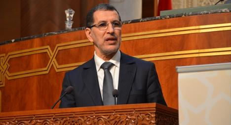 """رئيس الحكومة يحل بمجلس المستشارين لمناقشة استراتيجية التلقيح ضد """"كورونا"""""""