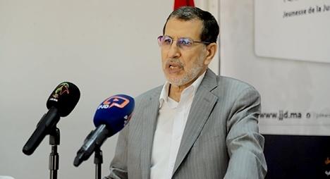 العثماني: لا نفكر في الانتخابات بل في خدمة بلدنا إلى النهاية