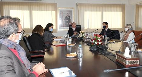 تنفيذ الاستراتيجية الوطنية لمغاربة المهجر محور لقاء بين الوفي واتحاد مقاولات المغرب