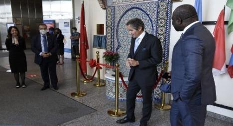 تدشين نافورة مغربية داخل مقر الوكالة الدولية للطاقة الذرية
