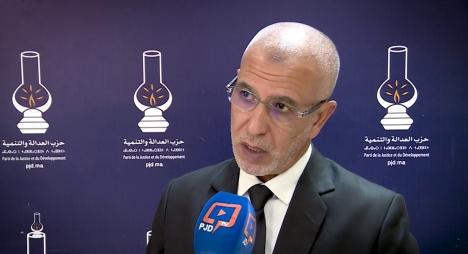 """العمراني يكشف مخرجات اجتماع الأمانة العامة لحزب """"المصباح"""" (فيديو)"""