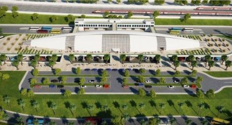 جمالية معمارية للمحطة الجديدة للرباط (صور)