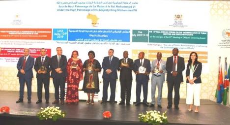 وزارة الشؤون العامة والحكامة تفوز بجائزة التميز الإفريقية بفضل تطبيق محطتي