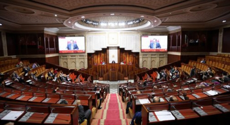 مجلس النواب: المغرب بقيادة جلالة الملك محمد السادس يعتبر القضيةِ الفلسطينيةِ قضيةً مركزيةً