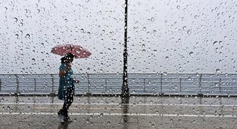 الأرصاد الجوية تتوقع تساقطات مطرية بمناطق المملكة