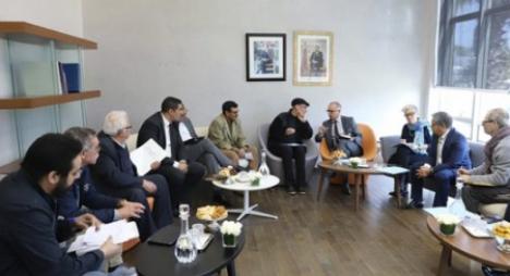 ممثلو الائتلاف المغربي لهيئات حقوق الإنسان يقدمون تصورهم بشأن النموذج التنموي الجديد
