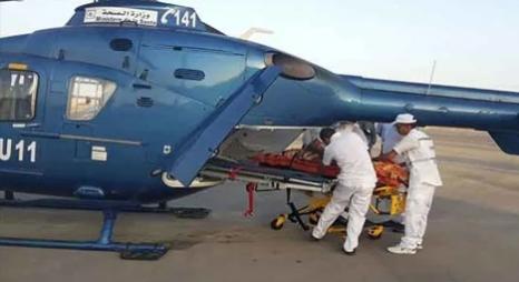 مروحية طبية تنقل مريضة في حالة حرجة من بوعرفة إلى وجدة
