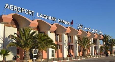 مطار الحسن الأول بالعيون يستهل السنة على وقع إيجابي بارتفاع 27.81 بالمائة