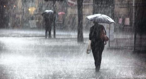 نشرة خاصة: أمطار قوية غدا الأربعاء بعدد من مناطق المملكة