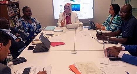 الوفي تترأس بنيويورك اجتماعا للمنتدى الإفريقي للتنمية المستدامة