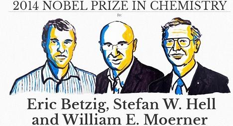 لجنة نوبل تمنح جائزة نوبل في الكيمياء لثلاث علماء لتطويرهم مجهرا عال الدقة