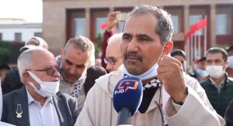 ويحمان يُعدد رسائل الوقفات التضامنية للشعب المغربي مع فلسطين