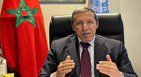 """هلال يفضح لدى الأمم المتحدة ومجلس الأمن الحملة الهستيرية التي تشنها الجزائر و""""البوليساريو"""" بشأن الوضع في الصحراء"""