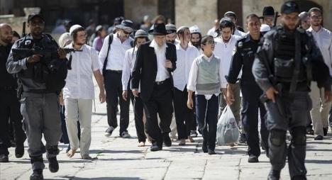القدس.. 653 مستوطنا يهوديا يقتحمون المسجد الأقصى