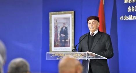 الرباط.. عقيلة صالح: مجلس النواب يتطلع إلى تشكيل حكومة تمثل كل المناطق الليبية