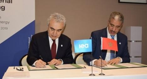 رباح يبرز أهداف تجديد إطار التعاون بين المغرب والوكالة الدولية للطاقة