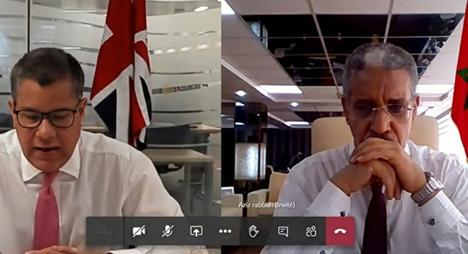خلال لقائه برباح.. وزير بريطاني يشيد بالدور الريادي للمغرب في مجال التغير المناخي
