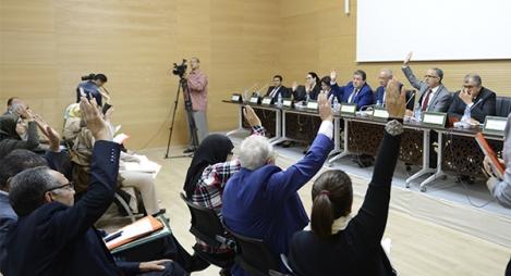 مجلس جهة الرباط يصادق بالاجماع على مشاريع تنموية