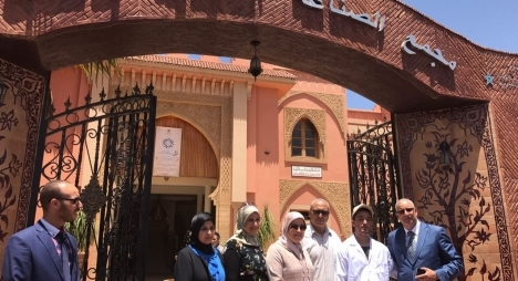 المصلي تتفقد مشاريع وبنيات قطاع الصناعة التقليدية بإقليم أزيلال