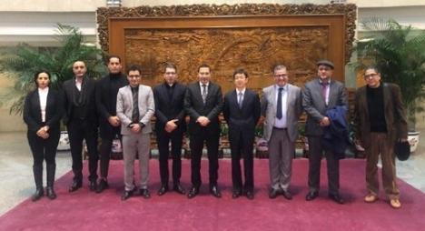العلاقات المغربية الصينية محور لقاء وفد إعلامي مغربي بمسؤول رفيع بوزارة الخارجية الصينية