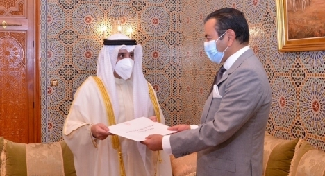الأمير مولاي رشيد يستقبل وزير الخارجية الكويتي حاملا رسالة من أمير دولة الكويت إلى جلالة الملك