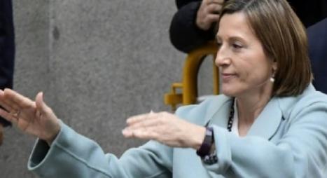 الإفراج عن رئيسة برلمان كاتالونيا بكفالة