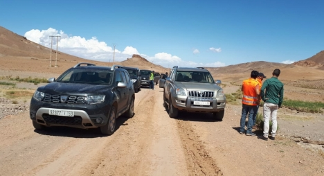 جهة درعة تافيلات تساهم بـ 30 مليون درهم لبناء طريق في جماعة سيروا بإقليم ورزازات