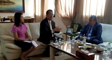 صديقي يبحث مع سفير تايلاند فرص التعاون بين الرباط وبانكوك