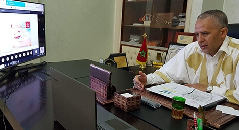 """شوباني يبحث سبل استئناف وتحسين خدمات """"لارام"""" بجهة درعة تافيلالت"""