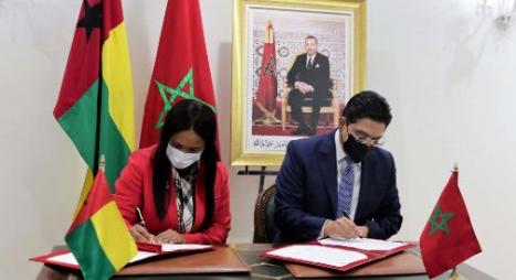 هذه تفاصيل 4 اتفاقيات تعاون بين المغرب وغينيا بيساو