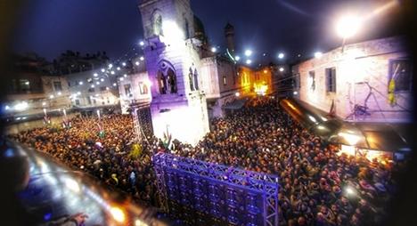 حملة الفجر العظيم بالأقصى.. مئات الآلاف يصلون لدعم المرابطين ورفض الاستيطان
