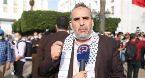فلولي: وقفة الرباط صرخة دعم لفلسطين واستنكار لجرائم الاحتلال الصهيوني