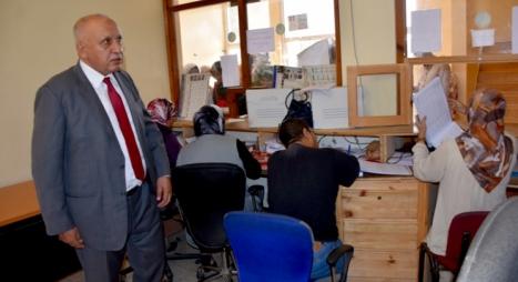 المالوكي يتفقد المرافق الثقافية والإدارية التابعة لجماعة أكادير