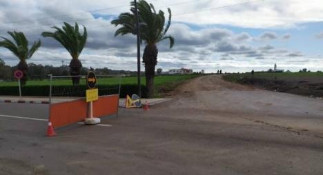 وزارة التجهيز تعلن انقطاع الطريق الجهوية رقم 509  في وجه حركة المرور