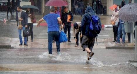"""""""الأرصاد الجوية"""" تكشف مقاييس التساقطات المطرية خلال 24 ساعة الماضية"""