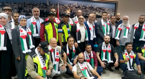 """امكيكي يشارك في وفد """"أميال من الابتسامات"""" بغزة"""