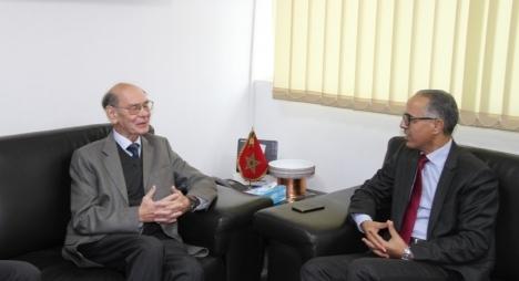 سكال والسفير الروسي بالمغرب يؤكدان أهمية تطوير علاقات البلدين