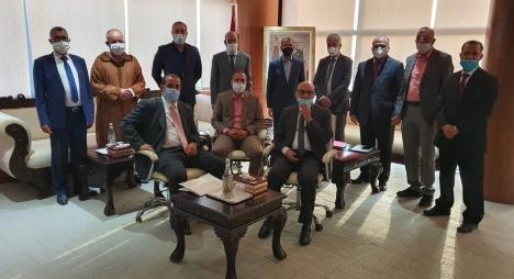 رئيس الحكومة يستقبل برلمانيي جهة فاس-مكناس بخصوص كارثة البَرَدِ