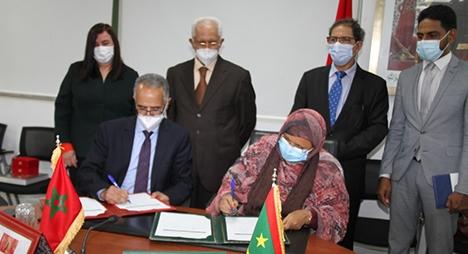 توقيع اتفاقية شراكة بين مجلس جهة الرباط سلا القنيطرة ومجلس جهة نواكشوط
