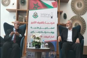 """عاجل.. وفد حركة """"حماس"""" يصل للمغرب"""