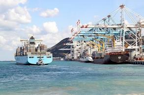 """ميناء طنجة.. شركة """"أ بي إم تيرمينالز""""..."""