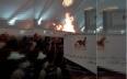 السيطرة على حريق بأحد أروقة المعرض الدولي للكتاب...