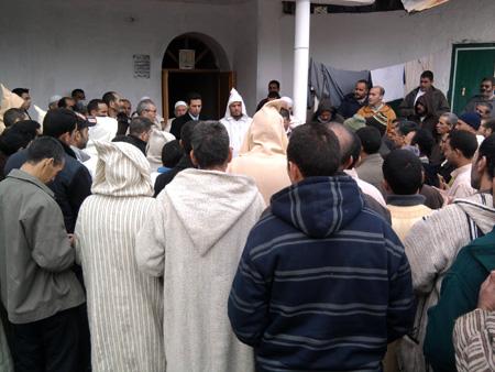 العلاوي يتواصل مع ساكنة جماعات دائرة وزان Wazan11